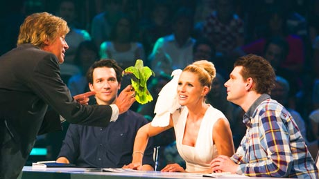 Mark Steiger, Felix Neureuther, Michelle Hunziker, Lutz van der Horst